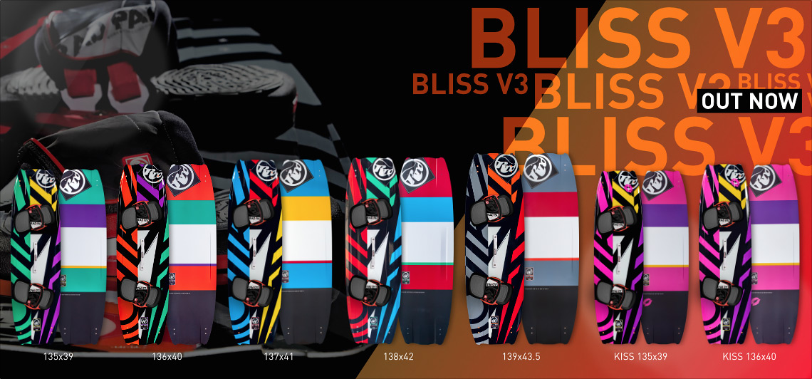 kitesurf boards new 2015 2016 rrd bliss 2016 v3