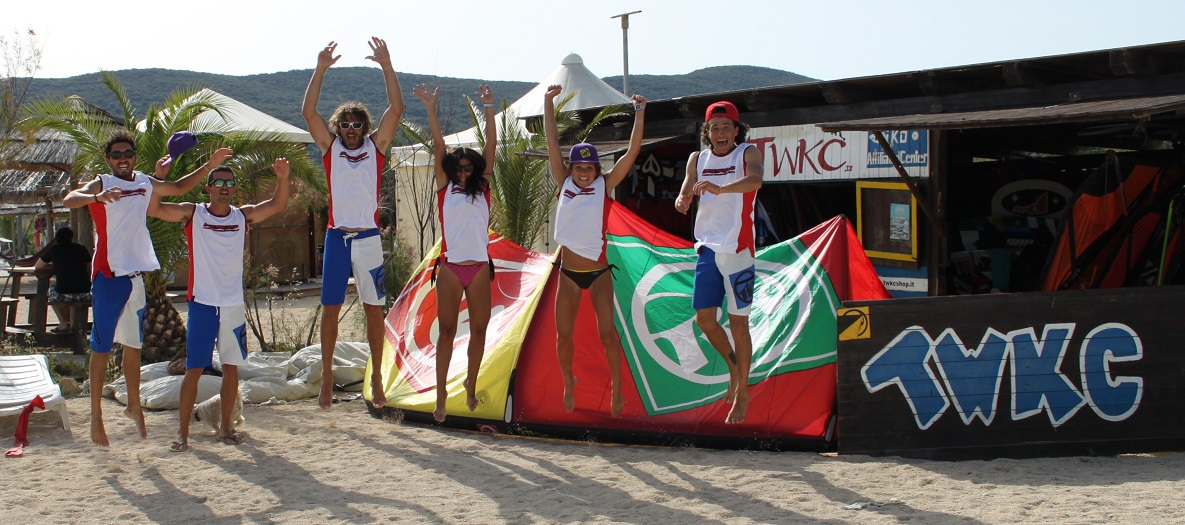 talamone windsurf kitesurf center staff