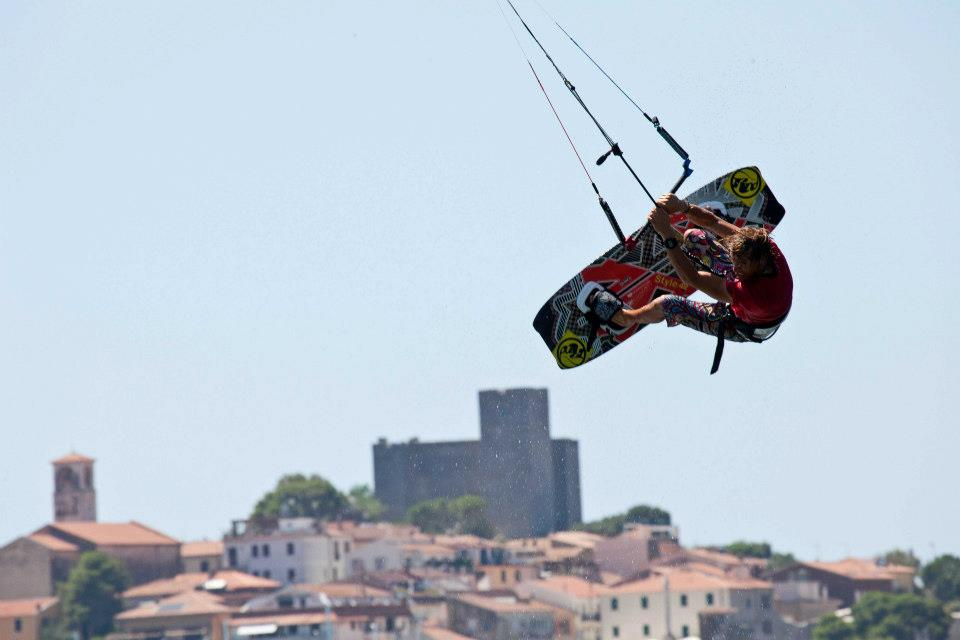 Talamone kite freestyle