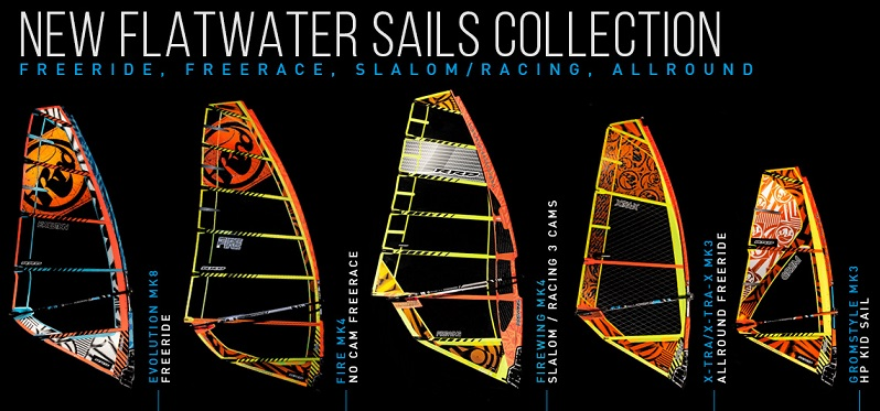 banner flatwater sails collection